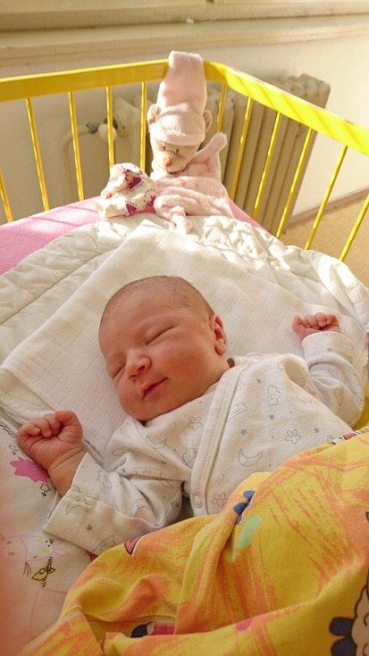 Linda Kořínková se narodila 29. března, vážila 3,59 kg a měřila 49 cm.  Maminka Romana, tatínek Luboš a bráška Tobiášek si ji odvezli domů do Mladé Boleslavi.