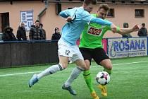 Fotbal, ČFL: Vyšehrad – Benátky.