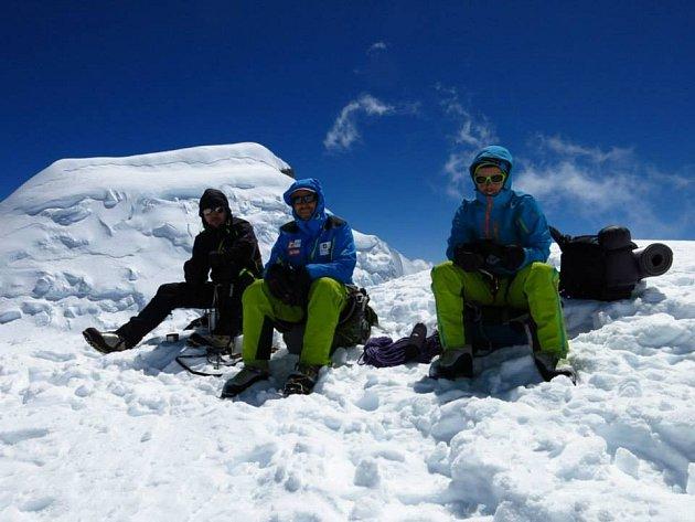 Aklimatizace výpravy v Peru