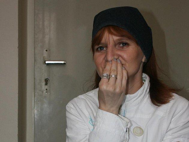 Nešťastná Gabriela Verkinová