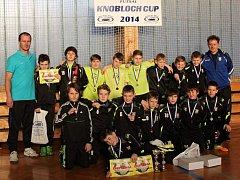 Mnichovohradišťský SK na Knobloch cupu junior 2014