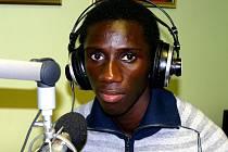 Alexander Mendy při rozhovoru v rádiu Jizera.