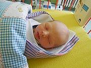 David Živný se narodil 18. září s mírami 3,13 kg a 45 cm. Maminka Michaela a tatínek Pavel si ho odvezou domů do Michalovic.