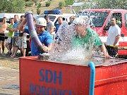 Hasiči závodili v Borovici při Jizerské lize 2015