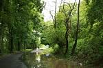 Velká voda na Mladoboleslavsku v neděli 2. června večer
