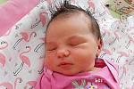 Terezka Melšová se narodila 10. dubna, vážila 4,09 kg a měřila 51 cm. S maminkou Olinou a tatínkem Petrem bude bydlet v Mladé Boleslavi, kde už se na ni těší bráškové Péťa a Adam.