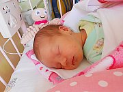Amálka Čerklová se narodila 25. října, vážila 2,23 kg a měřila 45 cm. S maminkou Pavlínou a tatínkem Jiřím bude bydlet v Luštěnicích.