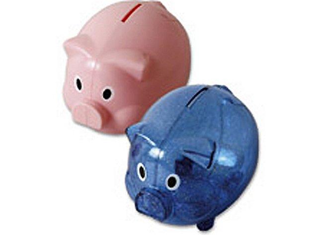 Kasička, peníze, rozpočet.