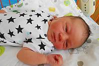 Jonáš Cinkeis se narodil 1. července, vážil 3,65 kg a měřil 51 cm. S maminkou Kateřinou a tatínkem Pavlem bude bydlet v Mladé Boleslavi.