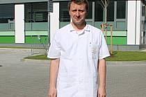 Primář chirurgického oddělení Klaudiánovy nemocnice Jaroslav Toušek