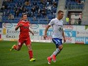 Michal Hubínek si odbyl premiéru v dresu Boleslavi proti Brnu.