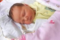 ELIŠKA Drábová přišla na svět 23. srpna s mírami 3,26 kg a 50 cm. S maminkou Nikolou a tatínkem Rudou bude bydlet v Čejetičkách, kde už se na ni těší sourozenci Rudánek a Nikolka.
