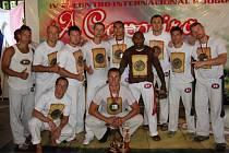 Úspěšný tým capoeiristů