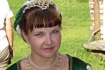 Dana Hyndráková z taneční skupiny Campanello.
