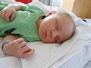 Antonín Balšánek se narodil 1. června, vážil 3,66 kg a měřil 52 cm. S maminkou Terezou a tatínkem Petrem bude bydlet v Žerčicích.
