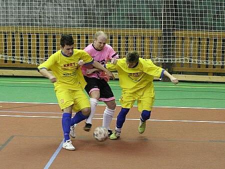 Futsalová divize: Olympik Mělník B - Malibu Mladá Boleslav