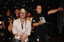Luboš Odháněl při křtu nového CD s názvem Adios.