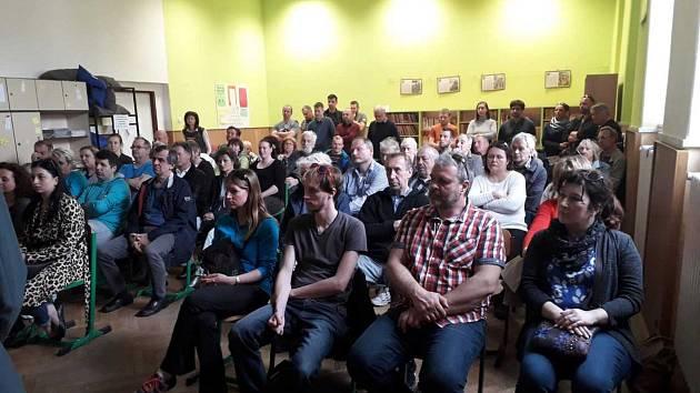 Veřejné setkání k problematice ulice Na Habeši