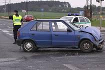 Ilustrační foto - dopravní nehoda