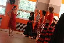 Zájemkyně se v Mladé Boleslavi mohly naučit tančit flamenco.