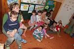 Měření očí u dětí ve školkách na Mladoboleslavsku.