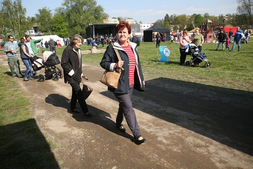 Z pálení čarodějnic v Mladé Boleslavi v roce 2019.