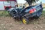 Dopravní nehoda u obce Boreč