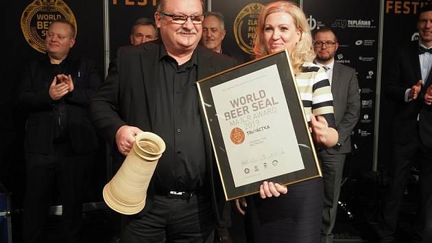 Třináctka zrohozeckého pivovaru získala světové prvenství.