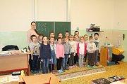 1. C ZŠ Bělá pod Bezdězem, třídní učitelka Šárka Müllerová