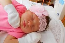 ADRIANA Soukupová se narodila 24. června, vážila 3,25 kg a měřila 50 cm. Maminka Simona a tatínek Matěj si ji odvezou domů do Kosmonos.