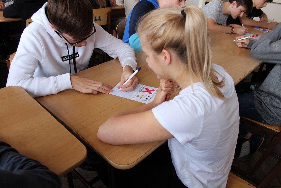 Na SPŠ Mladá Boleslav se odehrál turnaj v piškvorkách