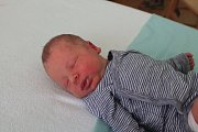 Jan Kollin se narodil první srpnový týden, vážil 3,1 kg a měřil 50 cm. S maminkou Viliou a tatínkem Janem bude bydlet v Mladé Boleslavi.