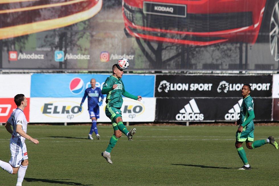 Mladá Boleslav porazila na domácím hřišti Karvinou 2:0.