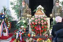 Pohřeb generálmajora S. Procházky.