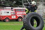 Třetí ročník soutěže Železný hasič v Jabkenicích