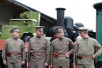 Legiovlak přijel do Mladé Boleslavi. Na hlavním nádraží bude otevřen do úterý 26. května.