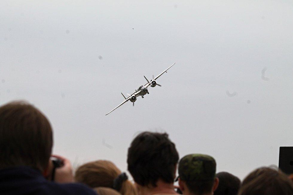 11. Dobový letecký den v Mladé Boleslavi.