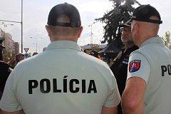 České policejní hlídky ode dneška posilují dva slovenští a dva polští policisté, kteří budou sloužit ve smíšených hlídkách s českými policisty.