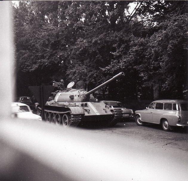 Rok 1968vMladé Boleslavi objektivem Jiřího Šímy