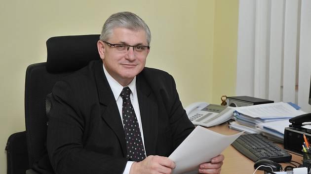 JUDr. Ladislav Řípa, ředitel Klaudiánovy nemocnice v Mladé Boleslavi.