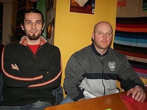 Jan Londzin (vlevo) a Radek Erychleb.