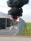 Obří požár v Bezděčíně