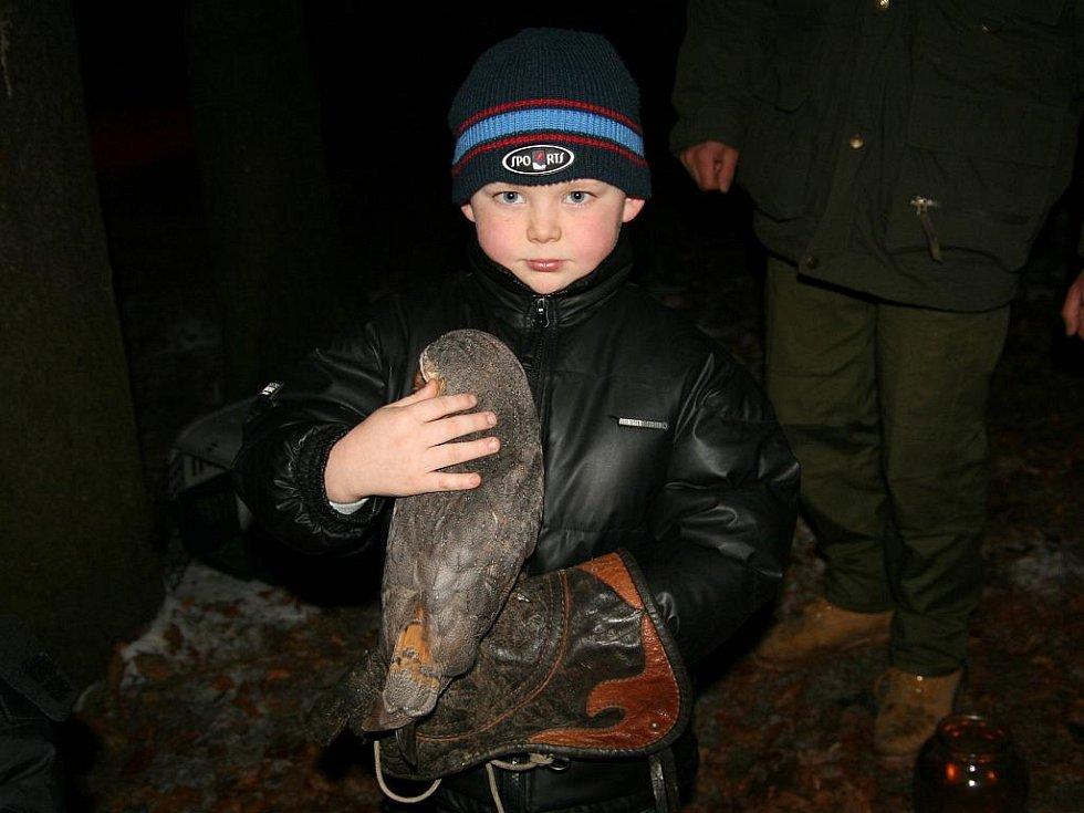 Sobotní Skřítkování v lesoparku Štěpánka.