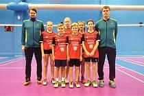 Tým benáteckých žáků odehrál Mistrovství České republiky v Brně.