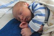 Jakub se narodil první srpnový týden, vážil 3,18 kg a měřil 49 cm. S maminkou Terezou a tatínkem Jakubem bude bydlet v Hřivně.
