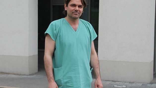 Primář oddělení gastroenterologie Juraj Marček
