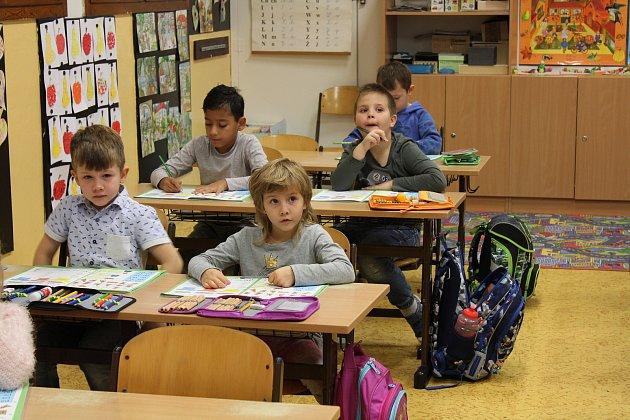 Žáci třídy 1.B