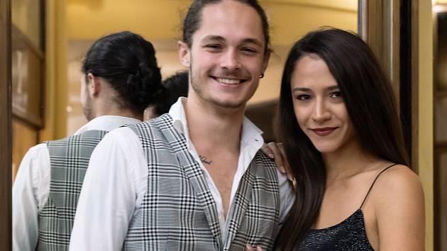 Eva a Matyáš v soutěži reprezentují Činoherní klub