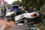 Tragická nehoda v Luštěnicích.