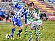 Druhé předkolo Evropské ligy: Shamrock Rovers - FK Mladá Boleslav.
